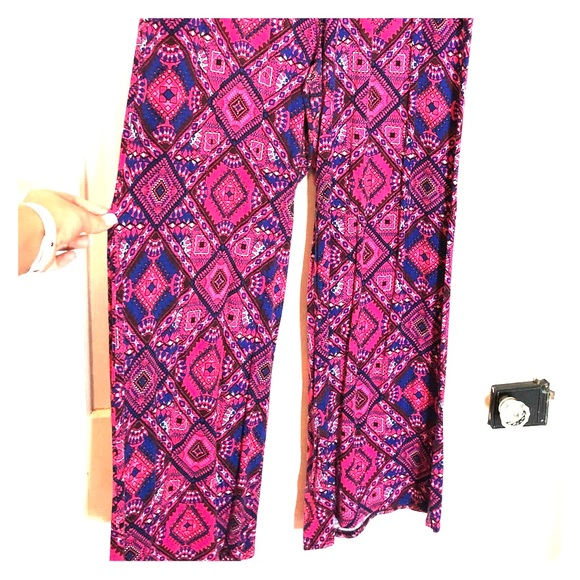 462c0f6b65a236 Cato Pants   Wide Leg Stretchy Plus Size Palazzo   Poshmark